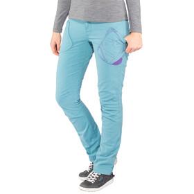 E9 Elly Naiset Pitkät housut , turkoosi